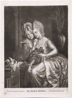 """The Fond Doves"", ca. 1778?; LWL 770.00.00.05+ lwlpr02830"