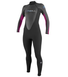 canoeing - ONeill Wetsuits Womens Reactor 3 2mm Back Zip Full Wetsuit.  Click on 9cfb42555