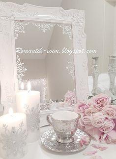 My Shabby Chic Home ~ Romance House: Mirror Mirror