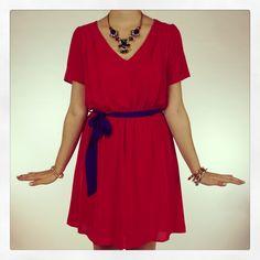 New Arrivals :: Candy Apple Dress, $53 #newarrivals #RubyRed www.popintotheshop.com