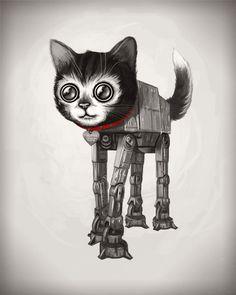 The future. Mike Miller. Robotic cat.