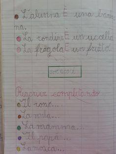 Ortografia del verbo essere – A cura di Cantore I. Patrizia Classe prima – Anno Scolastico 2013/2014