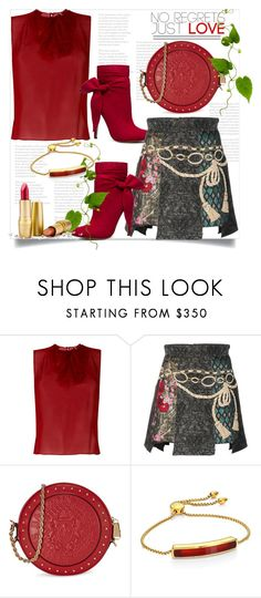 """No Regrets Just Love"" by helenaymangual ❤ liked on Polyvore featuring N°21, Dolce&Gabbana, Balmain and Monica Vinader"