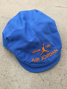 ad4d6f792b2 Rare Air Jordan Hat Flat Cap Baby Blue Jumpman 23 HTF Rare Deadstock since  1984  fashion  clothing  shoes  accessories  mensaccessories  hats (ebay  link)
