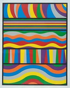 Black with White Lines, Vertical Not Touching - Sol LeWitt - WikiArt.org