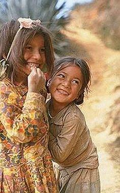laughing Nepali kids