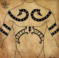 Norse Tattoo, Celtic Tattoos, Viking Tattoos, Arm Tattoos, Viking Symbols, Viking Art, Great Tattoos, Tattoos For Guys, Jormungandr Tattoo