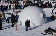 InterShelter 20ft Polar Dome Package - insulated dome