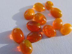Online veilinghuis Catawiki: Lot oranje opaal van 5.42 ct
