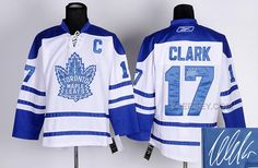 http://www.yjersey.com/for-sale-maple-leafs-17-clark-white-signature-edition-jerseys.html Only$50.00 FOR SALE MAPLE LEAFS 17 CLARK WHITE SIGNATURE EDITION JERSEYS Free Shipping!
