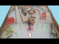 Cardboard Box Crafts, Wooden Crafts, Wooden Diy, Diy And Crafts, Woodworking Toys, Woodworking Projects, Pinball, Bar Games, Arcade Games