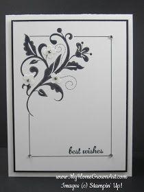 SU card : Flowering Flourishes wedding