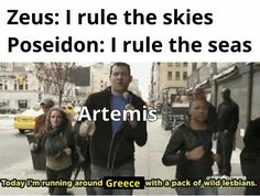 Percy Jackson Memes, Percy Jackson Books, Percy Jackson Fandom, Percy Jackson Comics, Greek And Roman Mythology, Greek Gods, Stupid Funny Memes, Funny Relatable Memes, Funny Stuff
