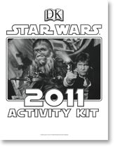 Here's an example of the activity sheets we'll supply for Star Wars Reads Day!