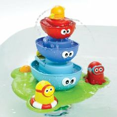 Amazon.com: Yookidoo Stack 'N' Spray Tub Fountain: Baby. My 19 month old LOVES this