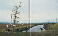 A sudden gust of wind (after Hokusai), Jeff Wall, 1993