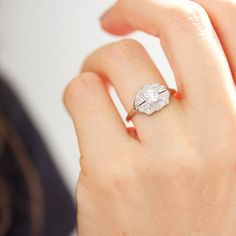 311 Best Vintage Engagement Rings Images On Pinterest In 2018