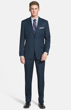 Canali Classic Fit Wool Suit available at #Nordstrom