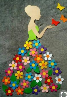 40 Easy DIY Spring Crafts Ideas for Kids - Crafts ideas 💡 Kids Crafts, Diy And Crafts, Craft Projects, Arts And Crafts, Craft Ideas, Diy Ideas, Craft Decorations, School Decorations, Kids Diy
