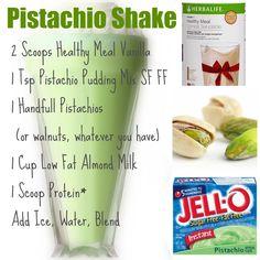 Herbalife Pistachio Shake