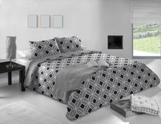 We love the colors Grey Duvet, Comforters, Duvet Covers, Blanket, Colors, Bed, Furniture, Home Decor, Gray