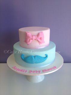 Baby Girl's Christening Cake — Baby Shower