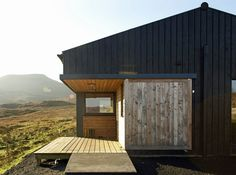 Skinidin - The Black Shed - Rural Design Architects - Isle of Skye and the Highlands and Islands