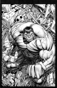 Hulk by Dale Keown