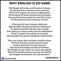 English Grammar . . . lol!