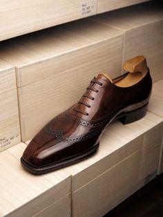 Leather Dress Shoes Lace up Wingtip Brogue Shoes Suit Shoes, Leather Dress Shoes, Gents Shoes, Gentleman Shoes, Wingtip Shoes, Oxfords, Formal Shoes For Men, Mens Fashion Shoes, Dream Shoes