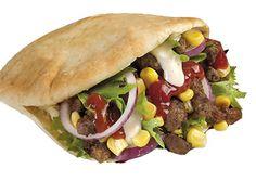 Bilderesultat for kebab i pita
