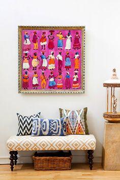 Modern Bohemian Loft by Design Manifest Indian Home Decor, Diy Home Decor, Home Interior, Interior Decorating, Interior Bohemio, Bohemian Interior Design, Ethnic Design, Design Interiors, Indian Interiors