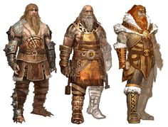 Norn Men from Guild Wars: Eye of the North