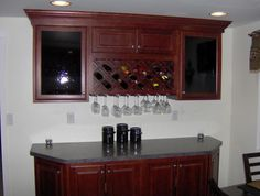 wine bar wall