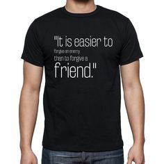 """William Blake quote t shirts,""""It is easier to forgive"""",t shirts men,black"""