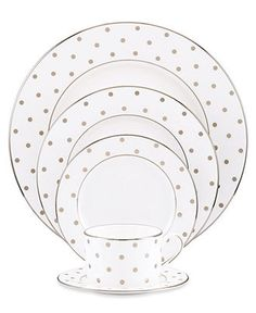 kate spade new york Larabee Road 5 Piece Place Setting - Buy 3, Get 1 Free - Dining & Entertaining - Macy's