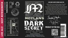 Moylan's / Nogne 0 & Hargreaves Hill Co-Brewed Dark Secret Double Black IPA