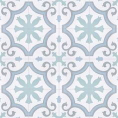 Merola Tile Lacour Aqua Encaustic in. Porcelain Floor and Wall Tile sq. / - The Home Depot Porcelain, Tiles, Tile Floor, Home Improvement, Floor And Wall Tile, Merola Tile, Flooring, Porcelain Flooring, Natural Stone Tile