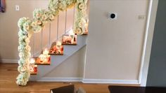 DIY staircase floral decor Modern is part of Wedding decorations - DIY staircase floral decor Diy Wedding Backdrop, Wedding Stage Decorations, Backdrop Decorations, Diy Wedding Decorations, Flower Decorations, Backdrops, Decor Wedding, Wedding Staircase Decoration, Diy Backdrop