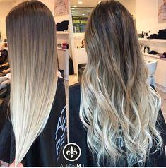 10 Ideas for Balayage on Straight Hair – Stylish Hairstyles Pretty Hairstyles, Easy Hairstyles, Straight Hairstyles, Ombre Hair Color, Hair Color Balayage, Bayalage, Brown To Blonde Balayage, Balayage Highlights, Cabelo Ombre Hair
