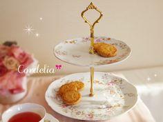Afternoon tea plate