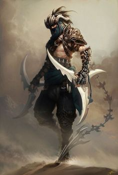 Spass und Spiele | assassin character design | male ninja, thief art | huge Shuriken knifes, weapon, sword, three sided star | edgy fantasy art | #assassins