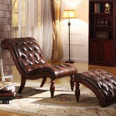 Auster Chaise Lounge and Ottoman Set - http://delanico.com/chaise-lounges/auster-chaise-lounge-and-ottoman-set-574325342/