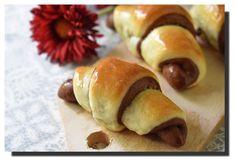 """Lakované"" dvoubarevné rohlíčky – PEKÁRNOMÁNIE Hot Dog Buns, Hot Dogs, Nutella, Bread, Sweet, Food, Candy, Brot, Essen"