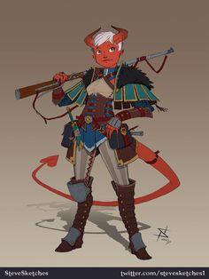 ArtStation - Character Sketches, Stephen Nickel