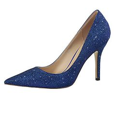 Shoes For Women Glitter Stiletto Heel Heels Basic Pump Pointed Toe Heels Casual Black White Silver Gold