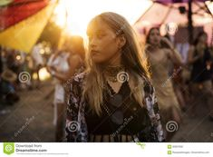 Woman Standing In Music Festival Stock Photo - Image of vacations, outdoors: 92937602 Woman Standing, Music Festivals, Free Stock Photos, Vacation, Concert, Hair Styles, Outdoor, Beauty, Image