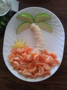 New fruit recipes for kids snacks school lunch 49 ideas Cute Snacks, Healthy Snacks For Kids, Cute Food, Kid Snacks, School Snacks, Eat Healthy, Beach Snacks, Healthy Lunches, Healthy Sweets