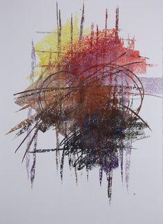 Michael Třeštík, 400 colors on 10 sheets, series II, No. 7, 2016, pastel A1