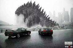 Nissan Skyline GTR Godzilla